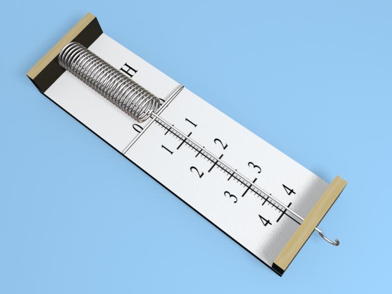 Как сделать простой динамометр