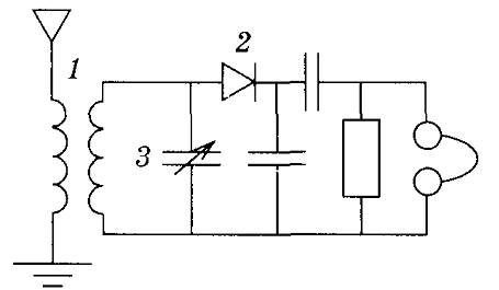 элемента радиоприемника