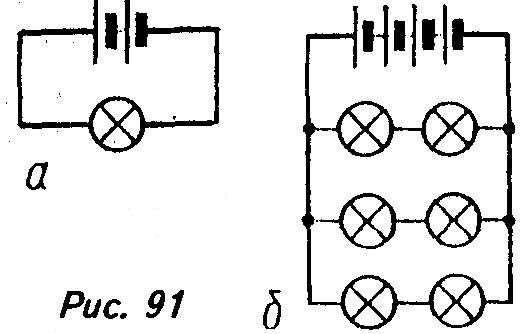 тока в цепи первой схемы?